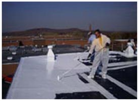 Roof Leaks, EPDM, Liquid EPDM