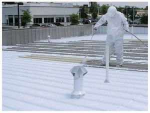 Installing EPDM Roof Coatings