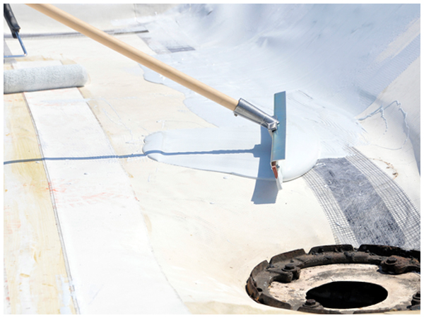 Application Of Liquid Rubber Coatings Epdm Roof Coatings