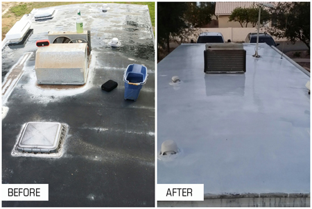 Instead, Consider Using RV Roof Coatings Instead. These Coating Could Be  Just The Thing Your RV Needs To Take Care Of Those Leaks.
