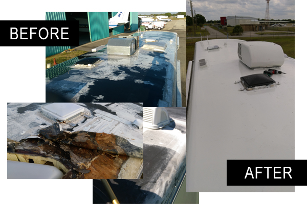 Understanding The Causes Of Rv Roof Leaks And How To Fix Them Epdm Roof Coatings Blog