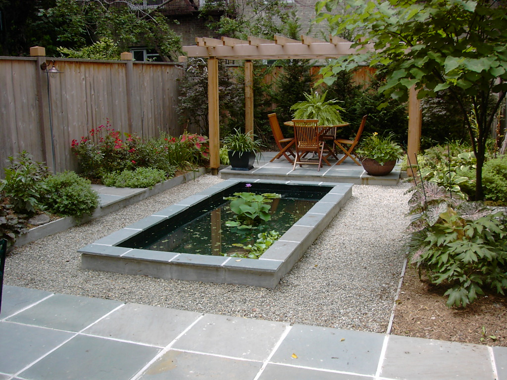 Epdm coatings liquid epdm liquid roof and liquid rubber for Small garden with pond design