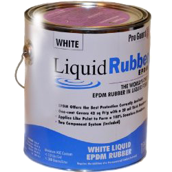 Liquid Rubber Epdm Rubber 1 Gallon Pail Epdmcoatings