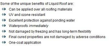 Repair roof leak
