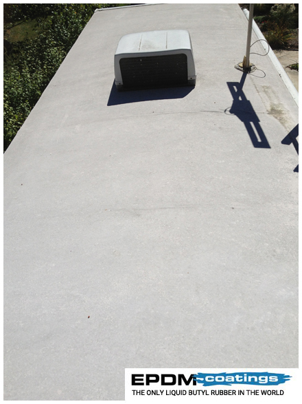 Liquid Roof Solution For Rv Roof Leaks Repair Epdm Coatings
