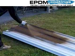 EPDM On Corrugated Metal Roof Panels